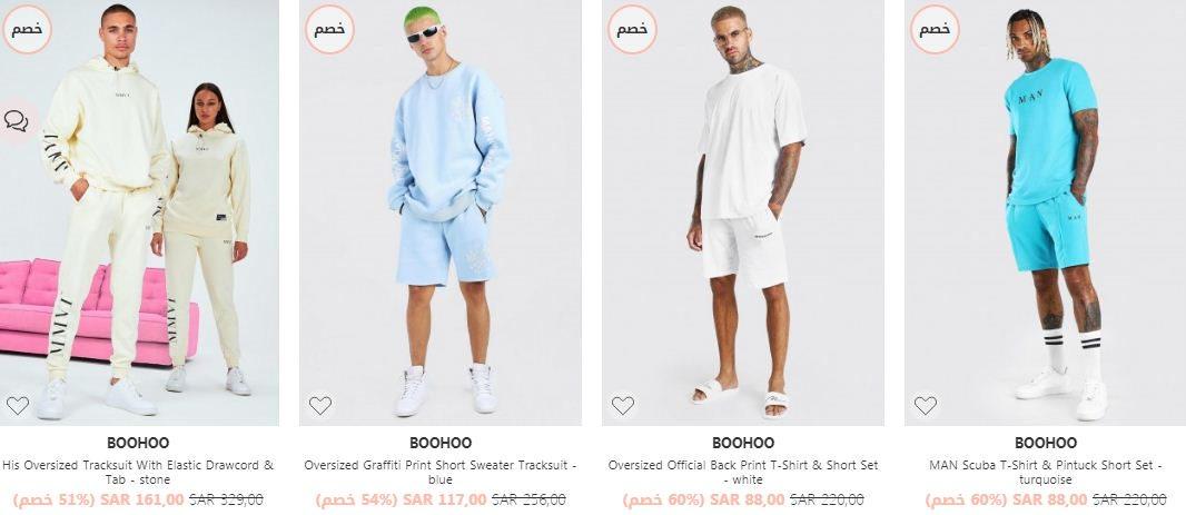 عروض ملابس في موقع فوغا كلوسيت رجال